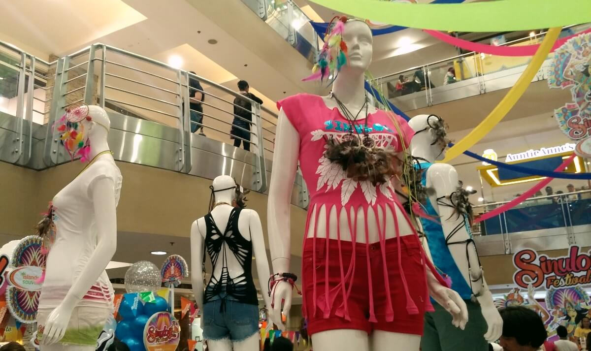 Sinulog fashion: Cut and style shirts at Islands Souvenirs or do it yourself